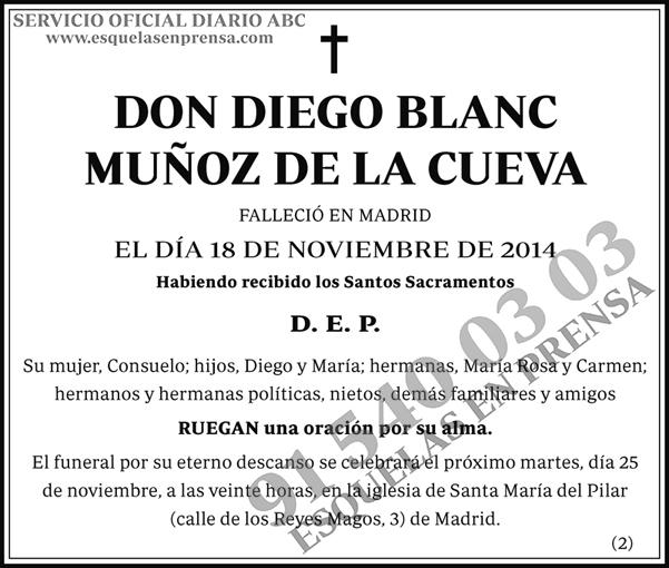 Diego Blanc Muñoz de la Cueva